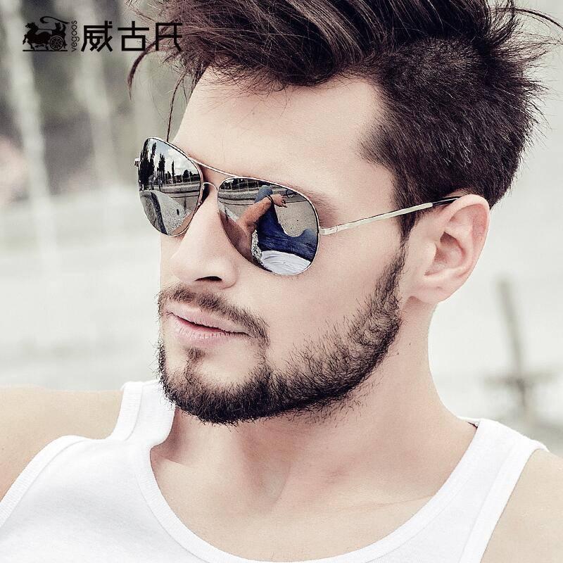 威古氏太阳镜潮男gm墨镜男士开车专用驾驶可夜视2019新款偏光眼镜
