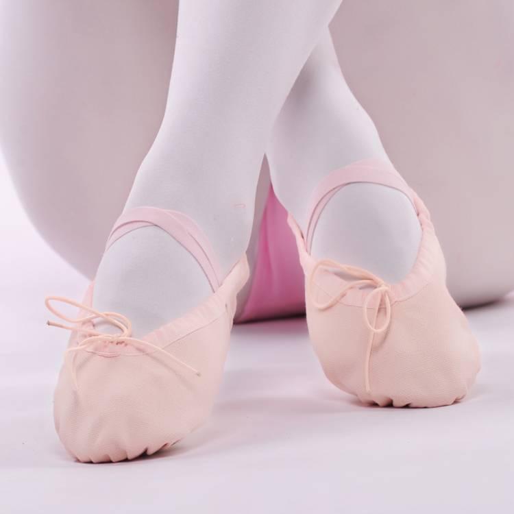 成人幼儿童舞蹈鞋女童软底练功男形体猫爪跳舞瑜伽加绒中国芭蕾舞