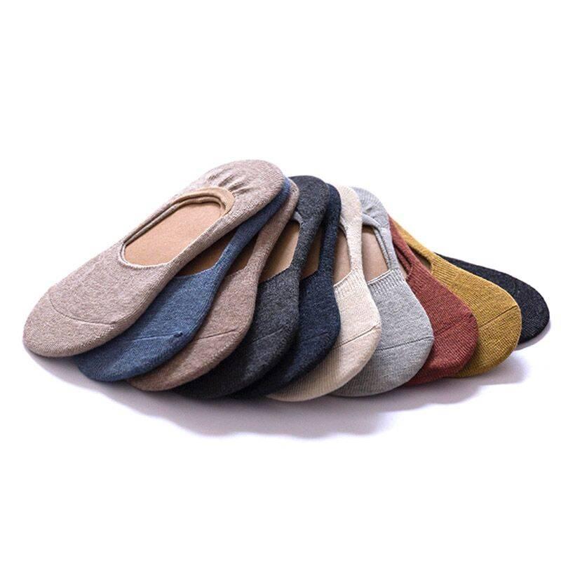 船袜女 纯棉夏季防臭浅口短袜薄款隐形硅胶防滑夏天不掉跟袜子女