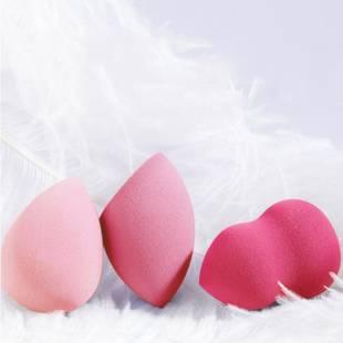 美妆蛋软不吃粉彩妆蛋化妆蛋海绵蛋干湿两用气垫粉扑rt盒架子BB蛋