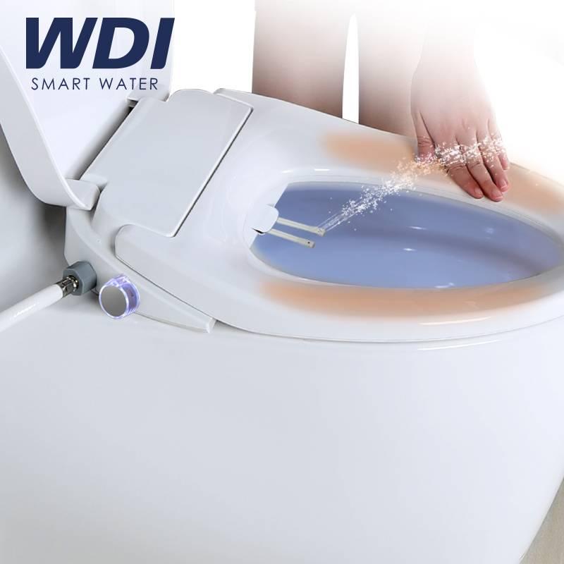 WDI即热式智能马桶盖全自动家用电动坐便盖板左防水妇洗冲洗器