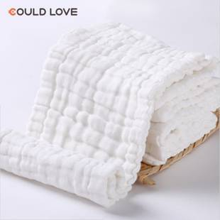 尿布純棉新生嬰兒100%全棉紗布可洗尿布寶寶四季介子布透氣尿片