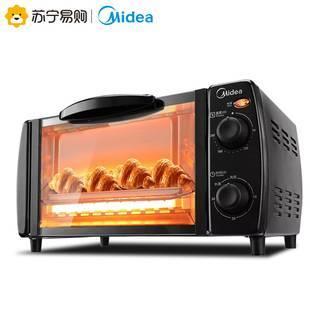 美的微波炉电烤箱家用烘焙多功能