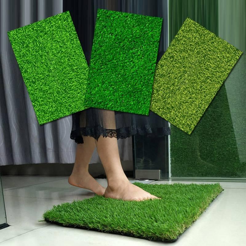 人造草坪垫子工程围挡假草绿色人工草皮户外地毯仿真装饰绿植墙面