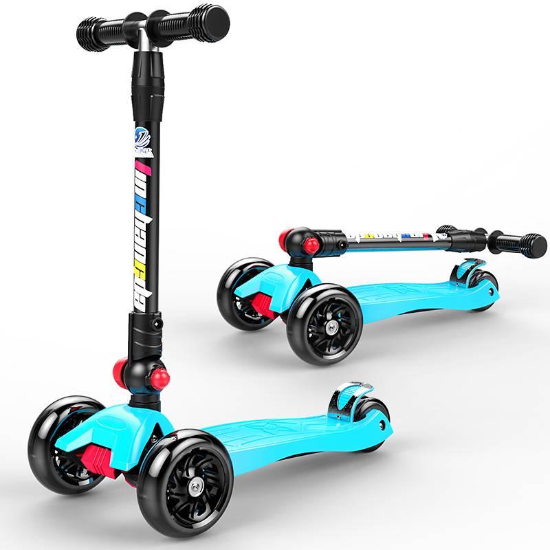 金昶达1-2-3-6-12岁儿童滑板车女孩宝宝小孩踏板划板溜溜单脚滑滑