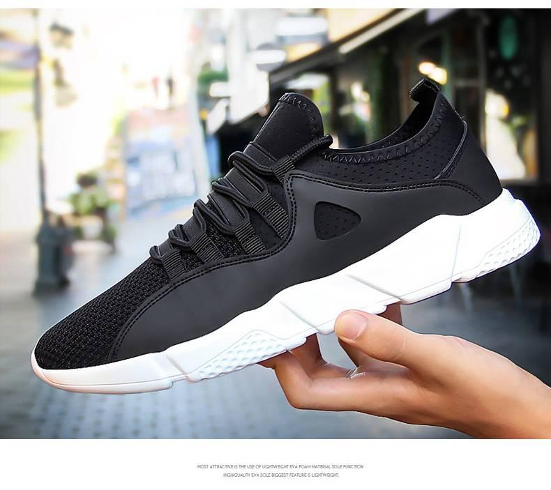 男鞋夏季网鞋透气网面运动休闲跑步潮鞋韩版百搭夏天男士鞋子