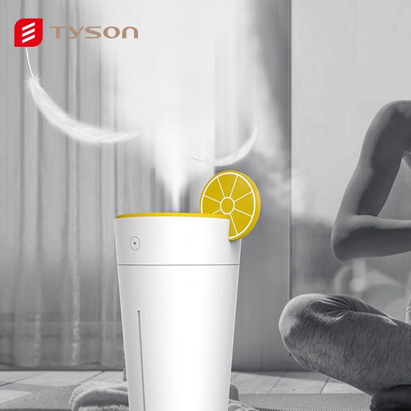 Tyson柠檬杯加湿器USB迷你家用卧室补水喷雾抖音同款办公居家宿舍