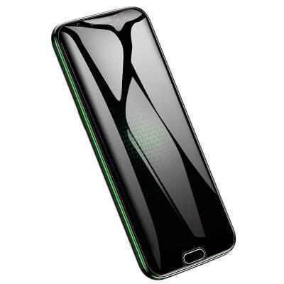 小米黑鲨游戏手机钢化膜黑鲨2pro全屏2代1黑鲨helo钢化膜一代高清磨砂蓝光游戏原装无白边电竞级手感水凝贴膜