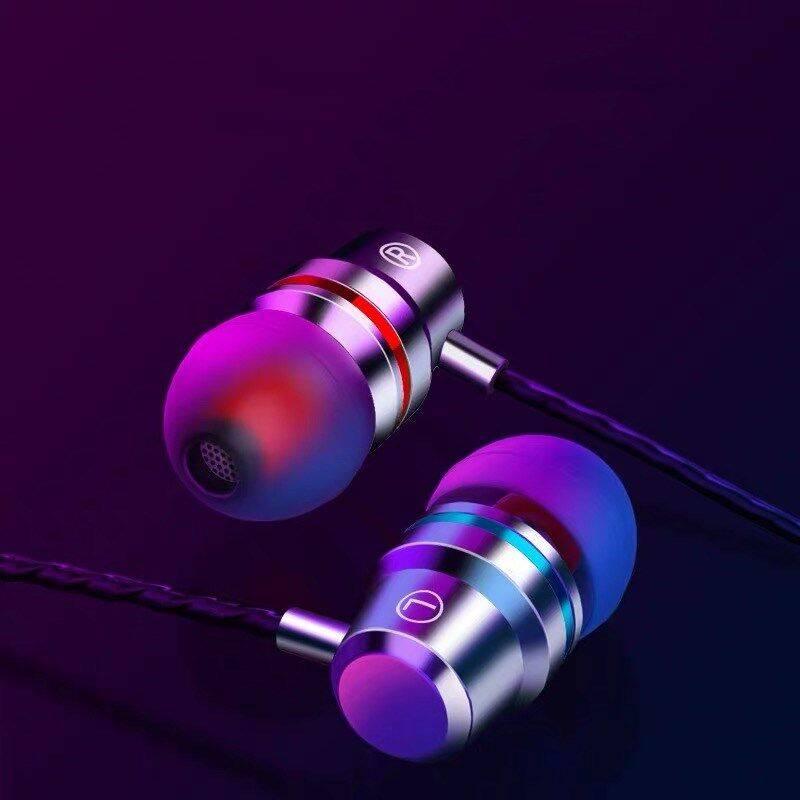 共科BM01 耳机入耳式 重低音手机平板电脑通用女生耳塞式线控带麦