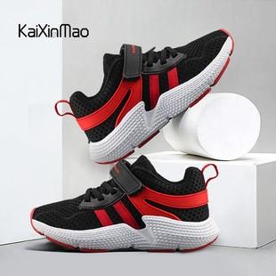 中大童跑步鞋网面透气休闲鞋