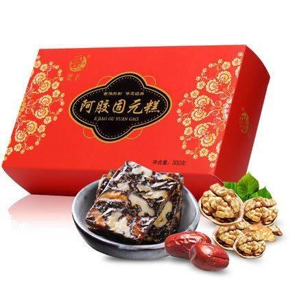 2件更优惠】知胶堂 阿胶糕即食红枣ejiao糕阿胶固元膏片女士型