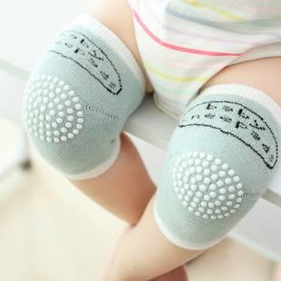宝宝护膝爬行防摔夏季婴儿学步护肘儿童小孩幼儿夏天运动护膝套盖