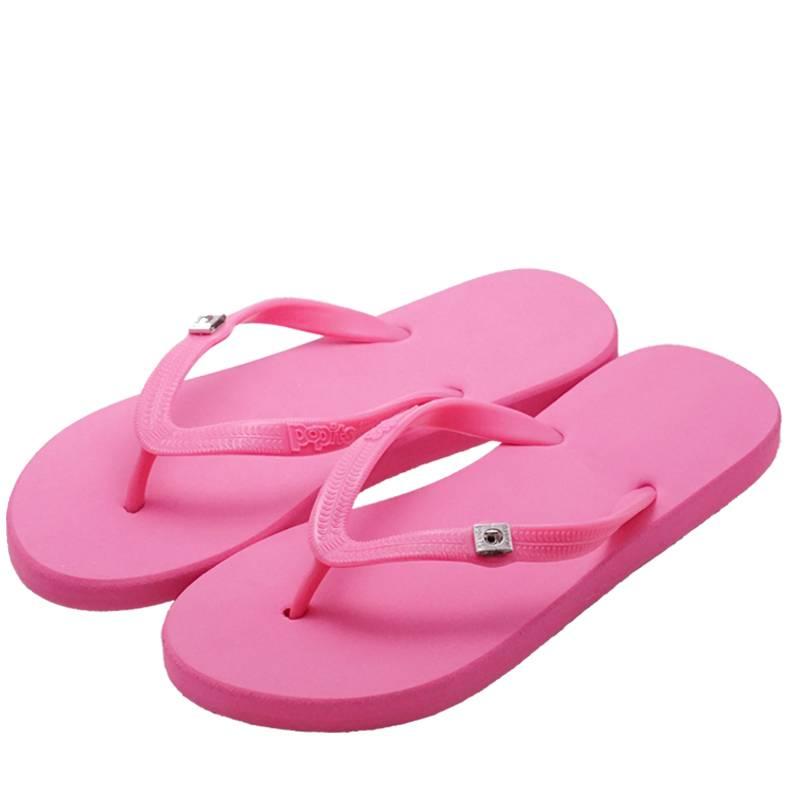 Popits平底人字拖女外穿凉拖海边度假沙滩网红可下水可湿水旅游