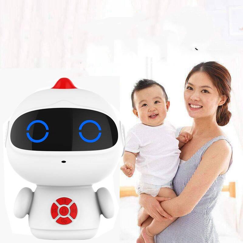 儿童智能机器人陪伴玩具语音对话男女孩高科技益智教育学习早教机AI人工智能机器人学习玩具