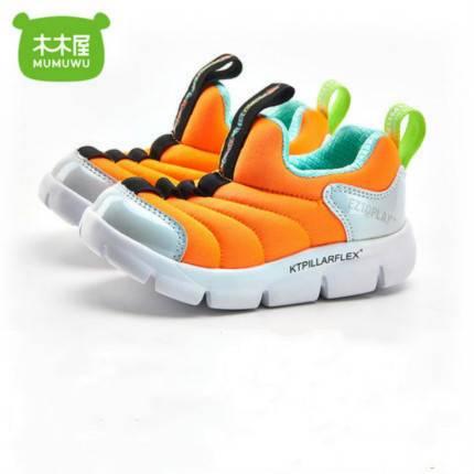木木屋毛毛虫童鞋2019秋新款男童女童运动鞋儿童学步宝宝鞋子