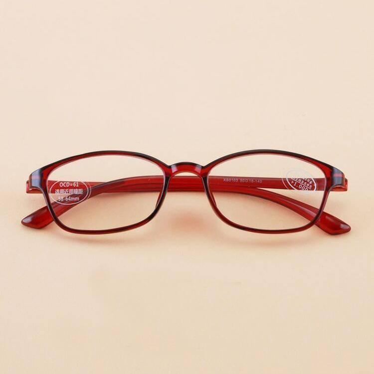 防蓝光老花镜男女超轻便携时尚tr90优雅舒适简约远视老化老光眼镜