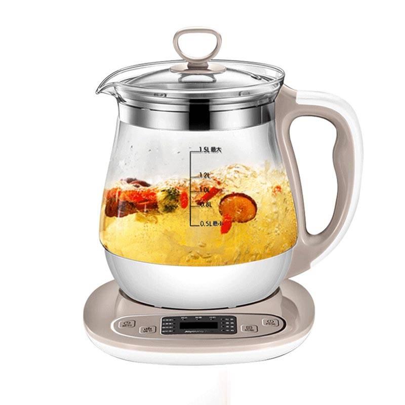 九阳养生壶全自动加厚玻璃电煮茶器花茶壶多功能烧水壶中药壶正品