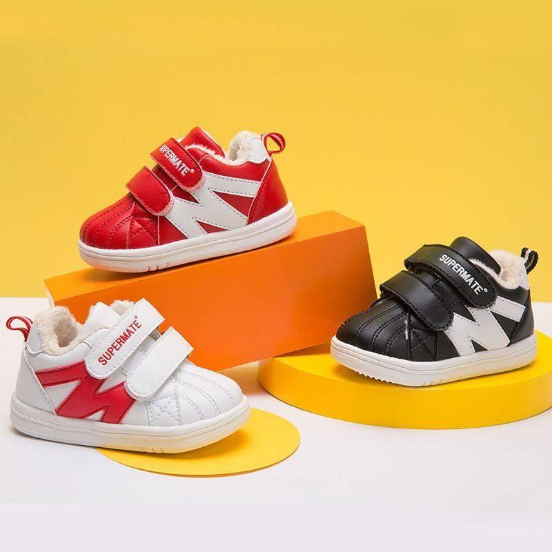 品牌秋冬季新款童鞋0-3-5岁男童软底学步鞋婴儿机能鞋女童运动鞋