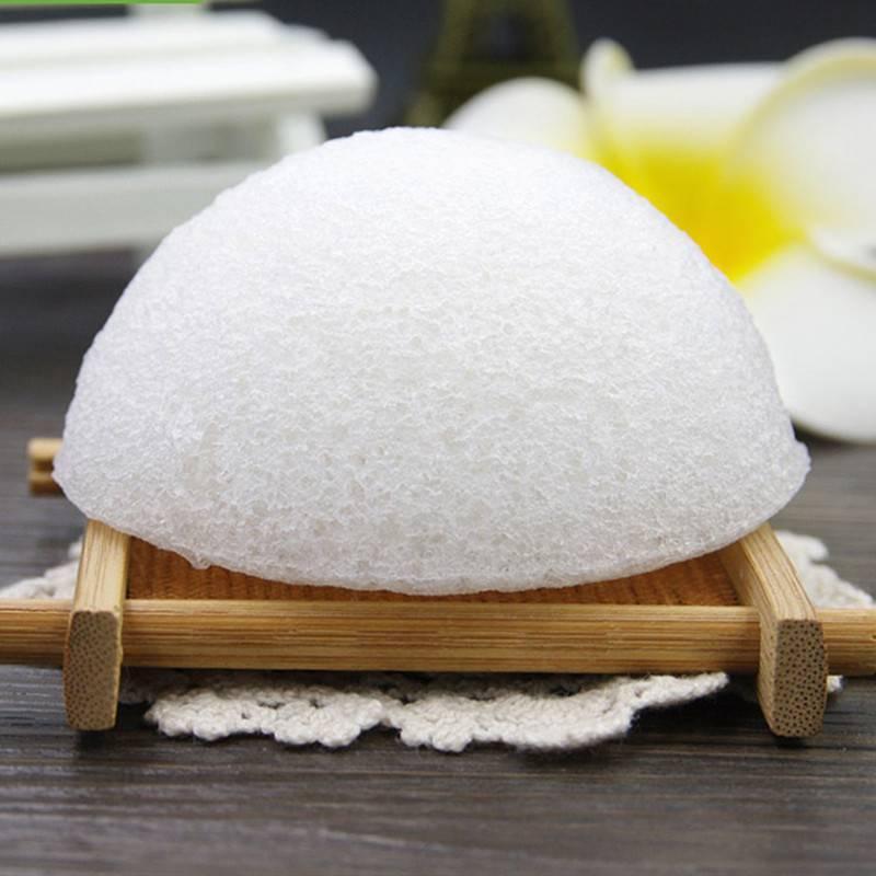 贝绒3片装魔芋棉洗脸扑洁面扑洁面巾植物洗脸扑魔芋球可爱海绵球
