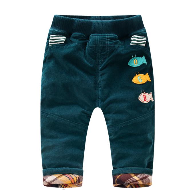 儿童装婴幼儿冬款棉裤新生儿加绒加厚灯芯绒裤宝宝保暖休闲长裤子