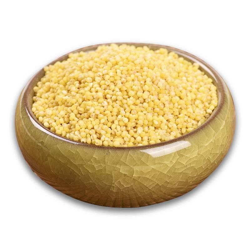 小米粥小米粮食小黄米500g黄小米粗粮新米2019五谷杂粮食用农产品