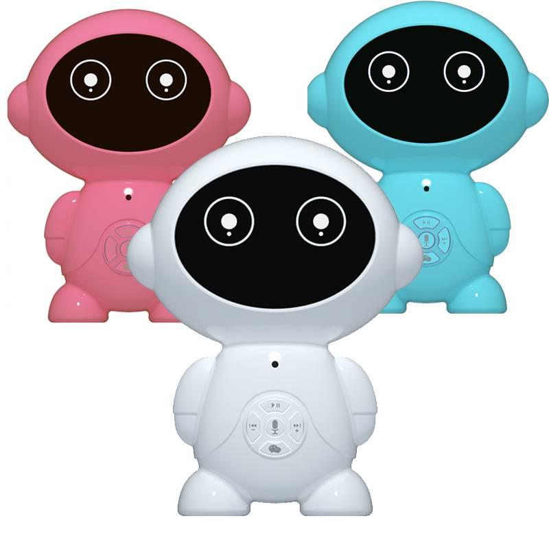 儿童机器人玩具智能对话高科技家庭陪伴学习机教育益智男女孩小胖小帅早教机
