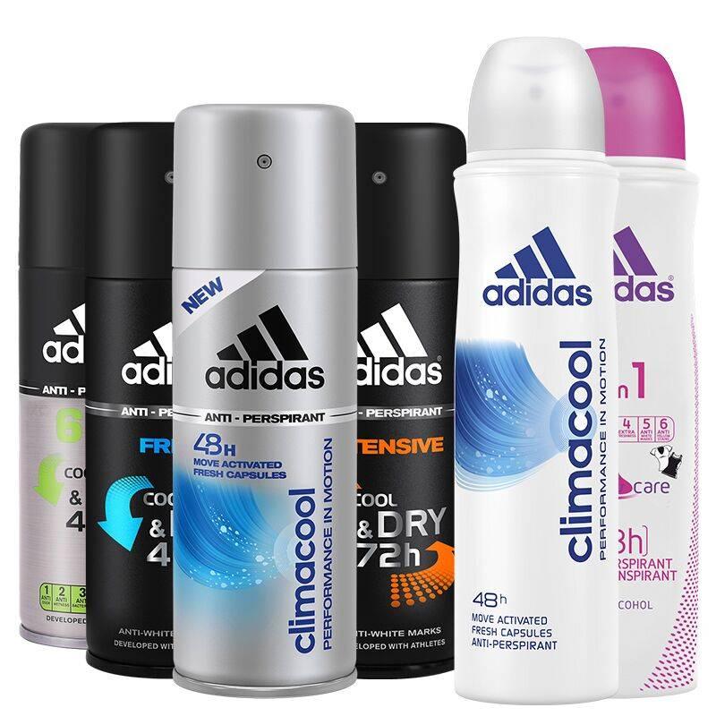 Adidas/阿迪达斯阿迪达斯男女止汗喷雾去狐臭持久淡香防抑汗爽身