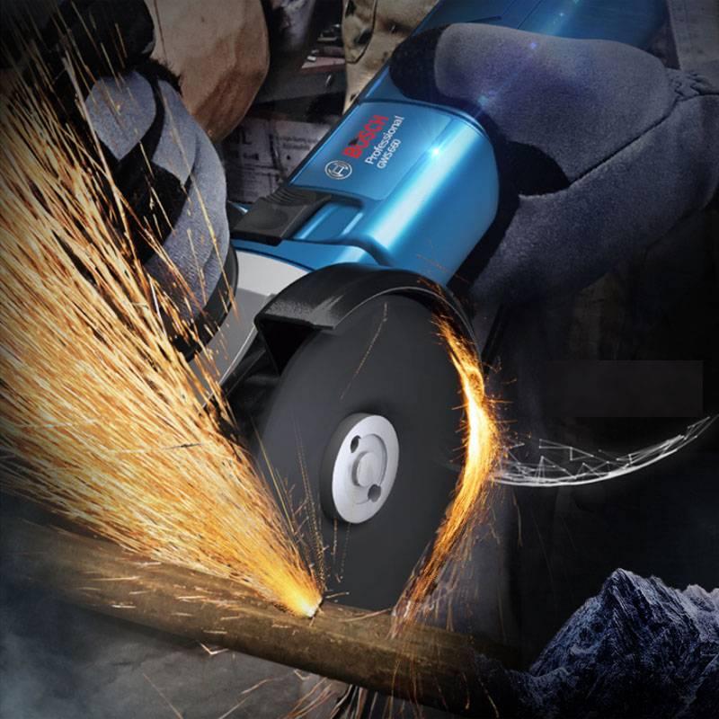 博世角磨机手磨机家用切割机磨光机打磨机多功能手砂轮