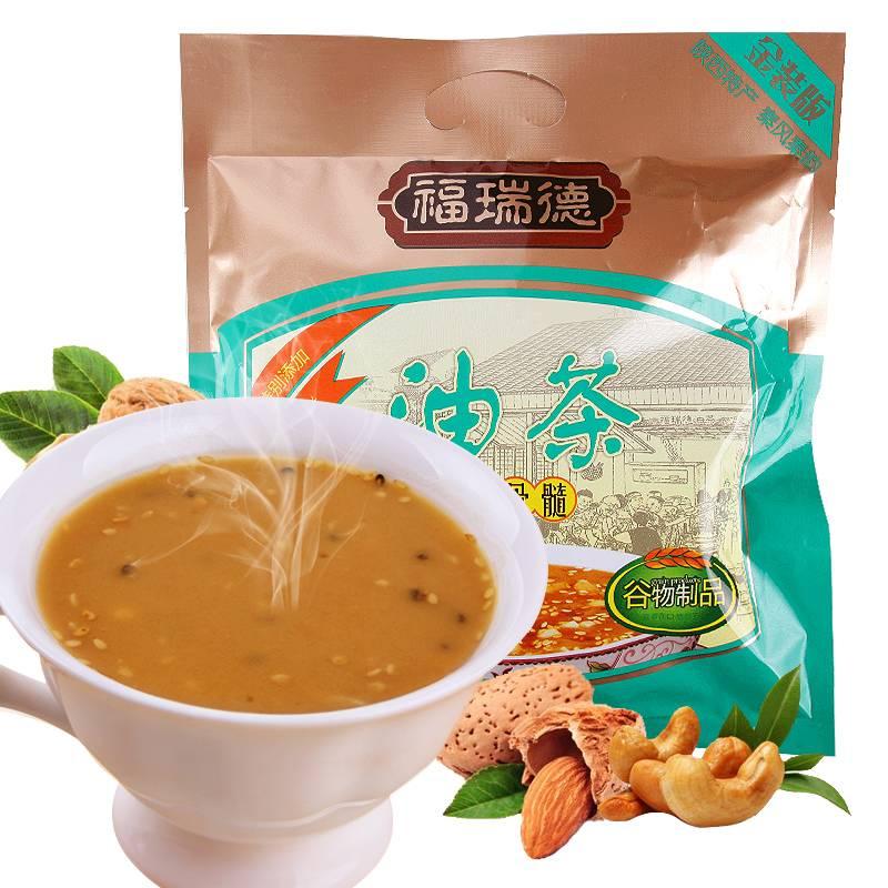福瑞德 五仁咸牛骨髓油茶400g早餐小袋装陕西特产食品营养冲饮品