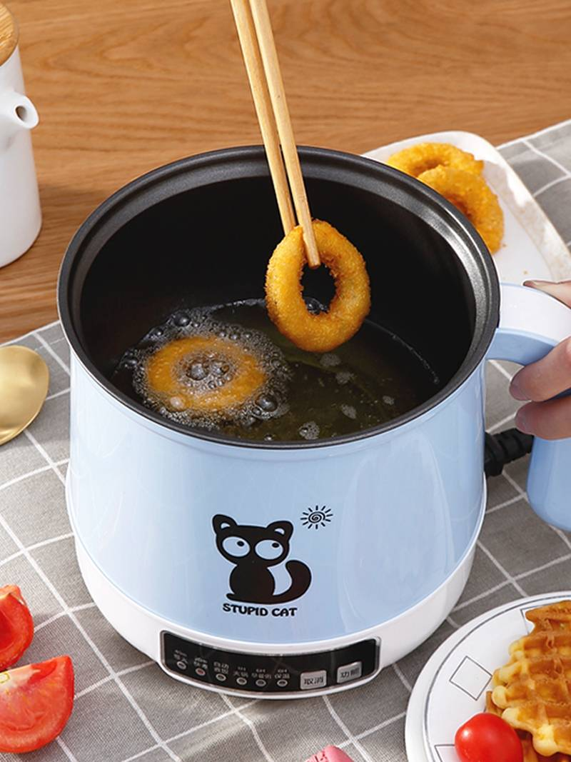 智能插電奶鍋不粘湯鍋家用寶寶輔食鍋小熱牛奶鍋迷你嬰兒煮粥蒸鍋