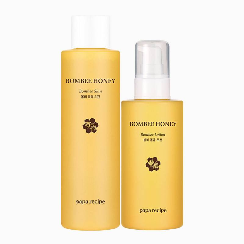 paparecipe春雨蜂蜜水乳护肤套装补水保湿滋润清爽敏感肌可用正品