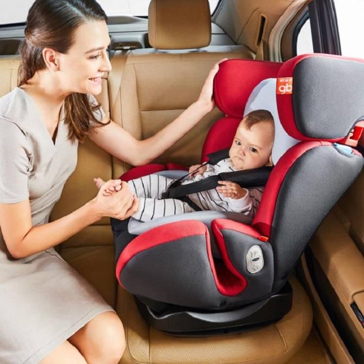 好孩子儿童安全座椅0-7岁360度旋转坐躺调节isofix汽车沙发式座椅
