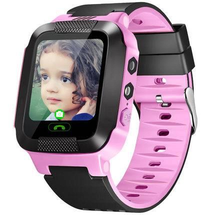玉猫YUMAO儿童电话手表学生移动电信版智能定位360度防水男孩小女孩天才适用苹果华为手机