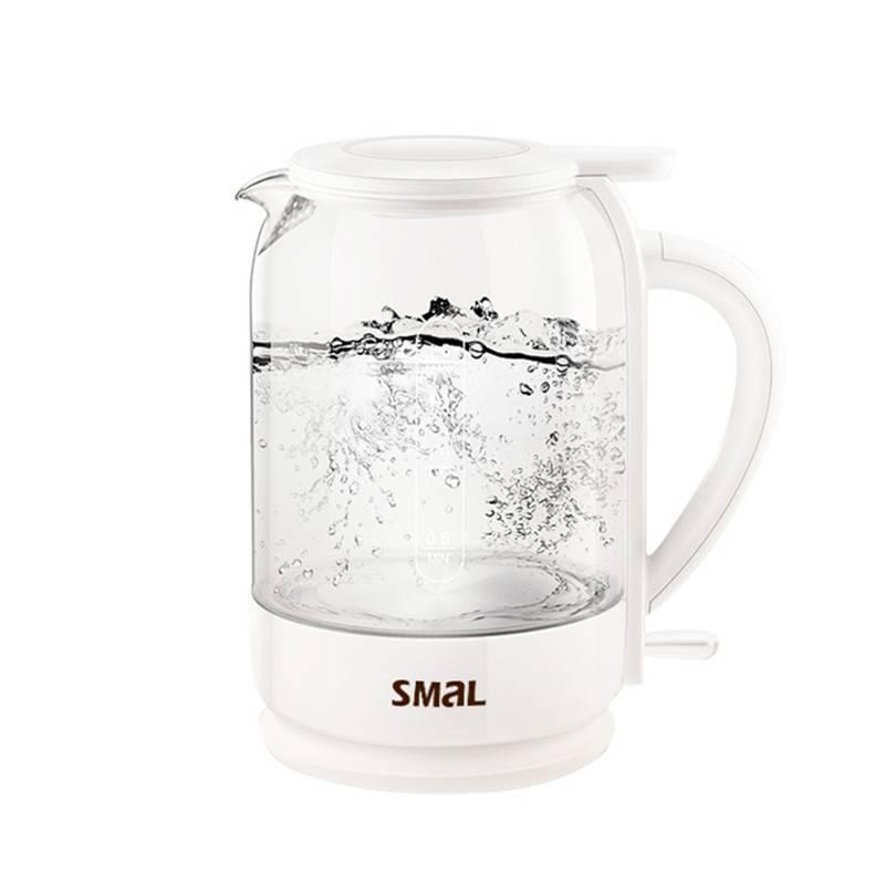 西摩玻璃电热水壶透明烧水壶家用小型不锈钢开水壶自动断电煮水壶