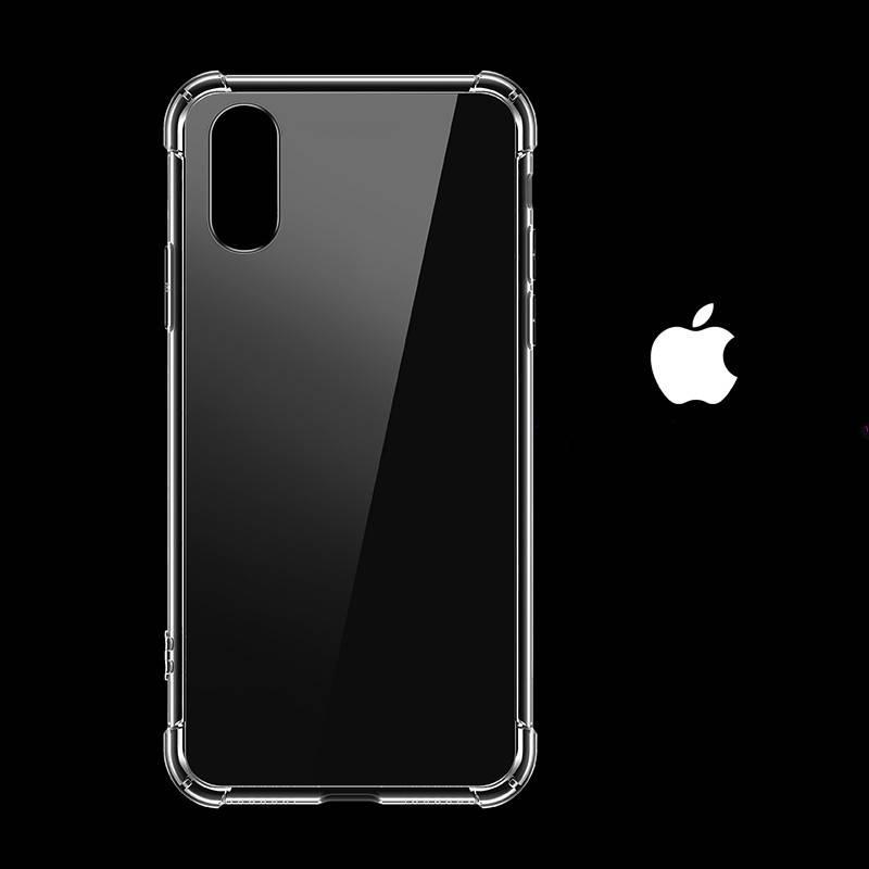 爱国者苹果x气囊手机壳iphone7透明8plus男女xsmax全包边xr保护套xs