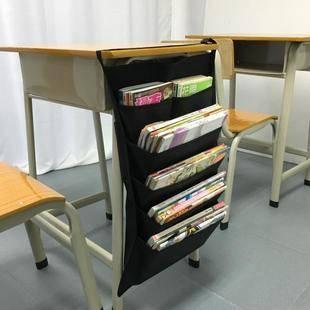 课桌收纳袋挂袋 挂书袋学生专用