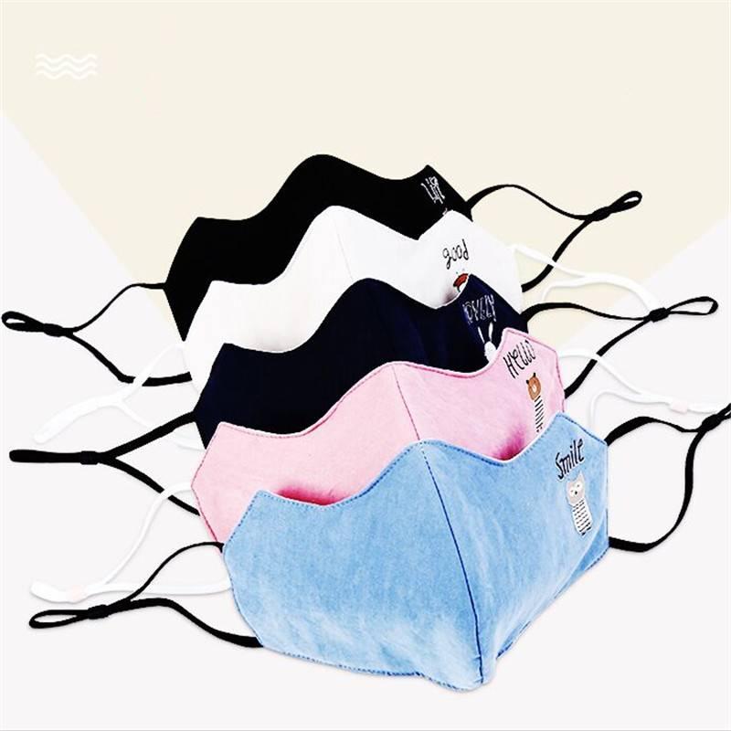 口罩女秋冬季纯棉防寒保暖网红情侣潮款个性韩版卡通男透气可水洗