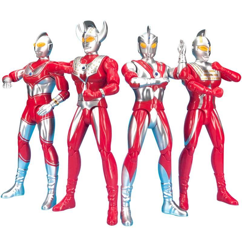大号泰罗奥特曼儿童玩具赛文特大超大号变形可动人偶武器套装组合