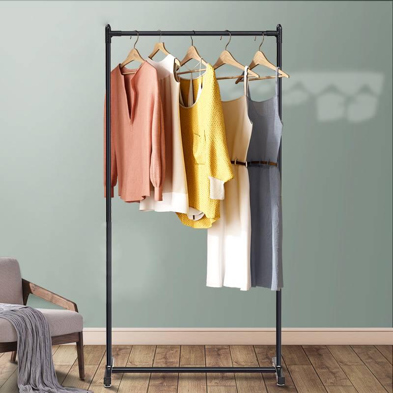 晾衣架落地折叠室内卧室衣架家用衣帽架阳台晒衣架升降简易挂衣架