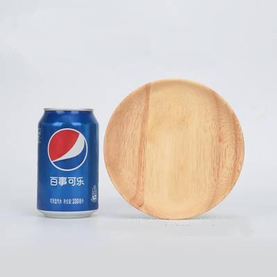 日式木质托盘长方形家用茶盘木制蛋糕面包水果圆盘创意实木盘子