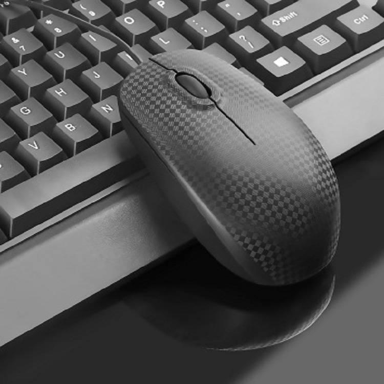 科普斯有线键盘鼠标套装机械手感发光电脑笔记本台式游戏小静音外接朋克复古usb网吧电竞键鼠可爱家用办公