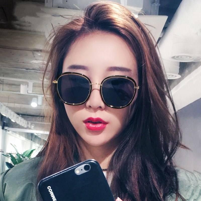 2019新款墨镜女ins韩版潮网红明星同款太阳镜偏光眼镜街拍圆脸