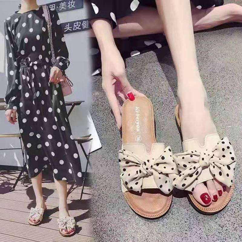 h拖鞋女夏时尚外穿个性韩版百搭平底室外海边度假沙滩鞋一字拖凉