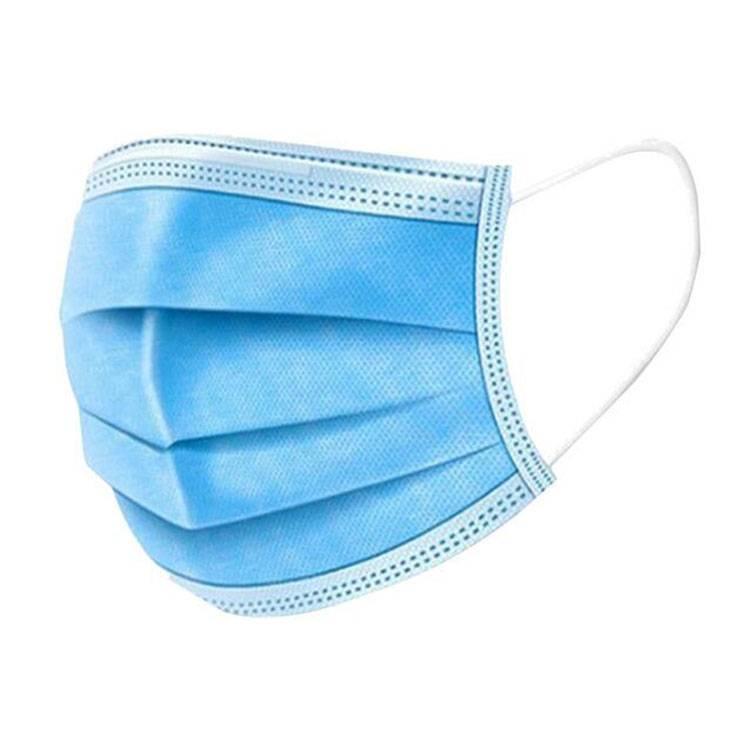 成人三层防护熔喷布口罩一次性防尘透气呼吸夏款50只儿童学生3层