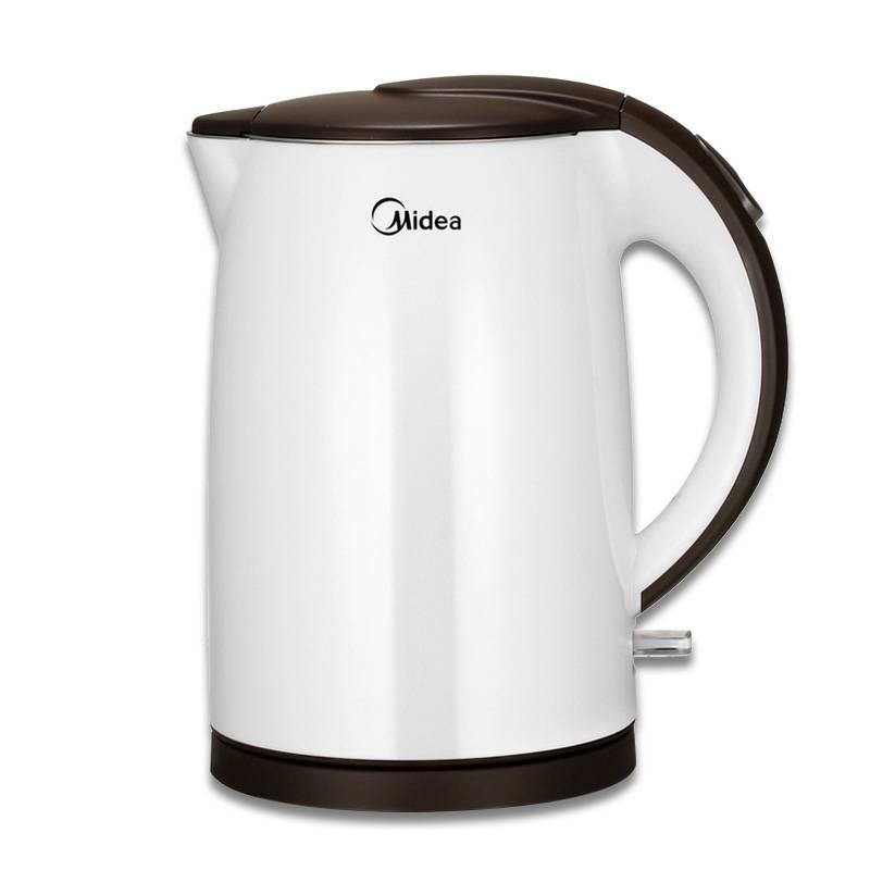 Midea/美的 MK-TM1502电热水壶防烫电水壶烧水壶自动断电特价