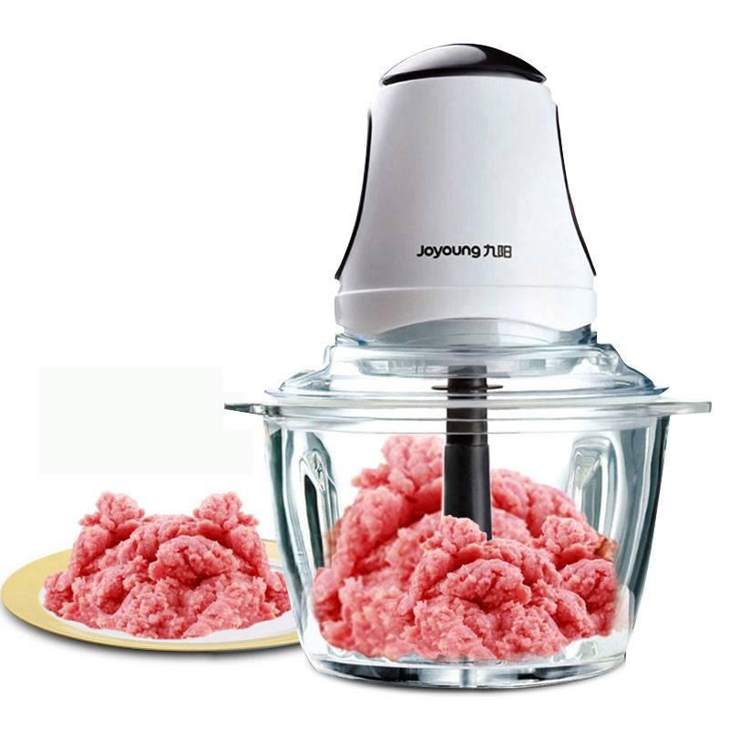 九陽S2-A808絞肉機家用不銹鋼絞餡碎肉機打肉餡辣椒輔食料理1.8升