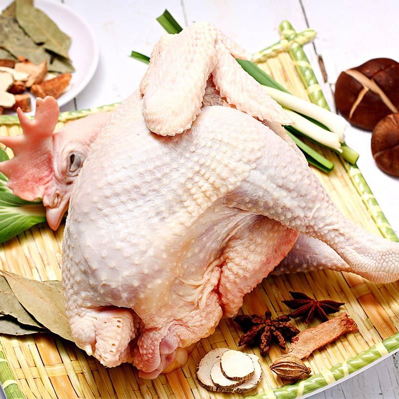 发2只正宗农家散养土鸡2年深山老母鸡生鲜鸡肉跑步鸡笨柴鸡