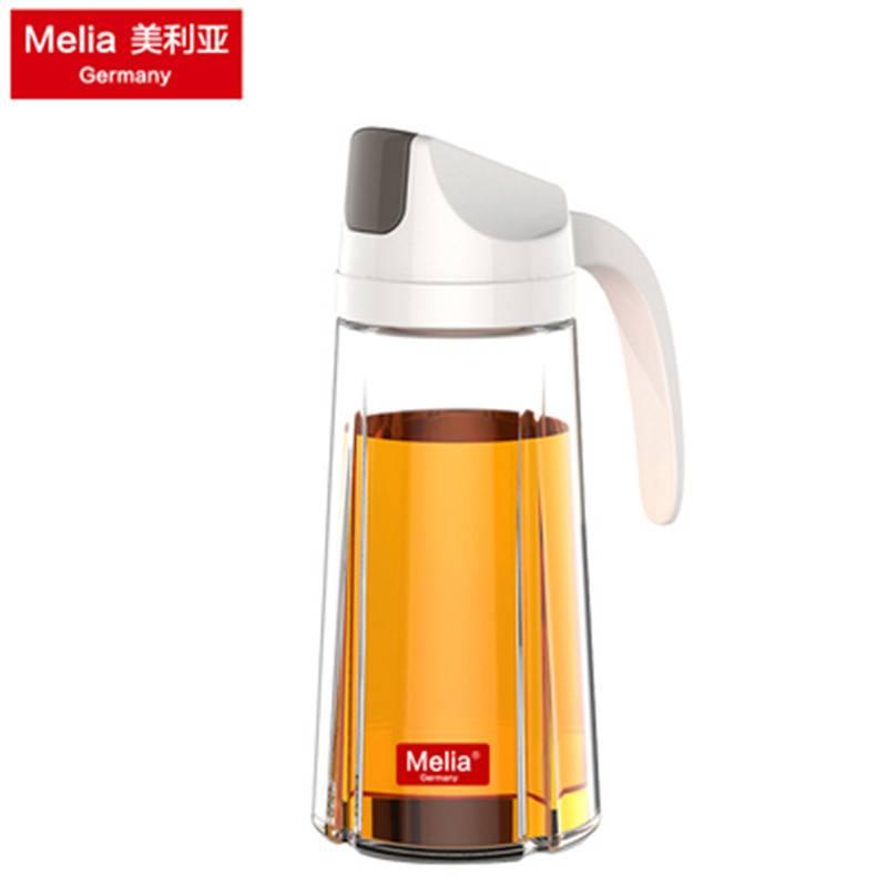 美利亚自动开合日式油壶油醋小油瓶玻璃防漏家用油罐厨房用品套装