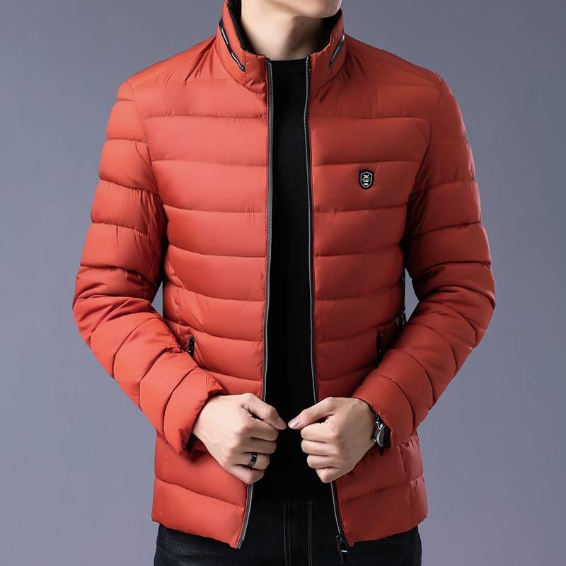 Thomy Tivin/托米迪文冬季新款棉衣韩版潮流立领青年外套73