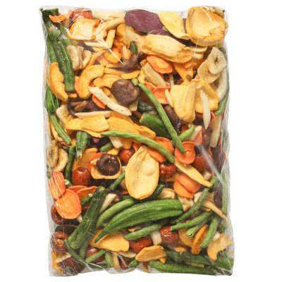 南大门老爷爷即食果蔬干综混合装255克 秋葵蔬菜干脆片萝卜10种